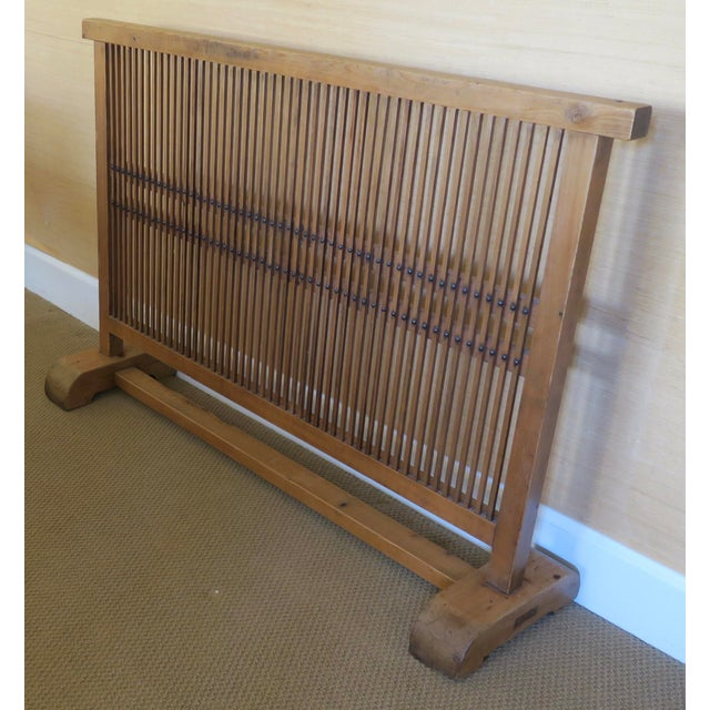 Antique Japanese Window Screen - Image 3 of 8