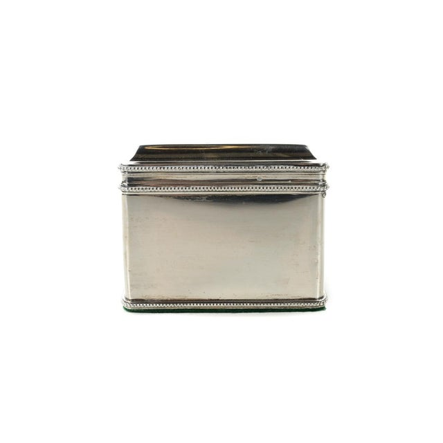 Late 18th Century Dutch Silver Biscuit Box Mark of Bonebakker For Sale - Image 5 of 9