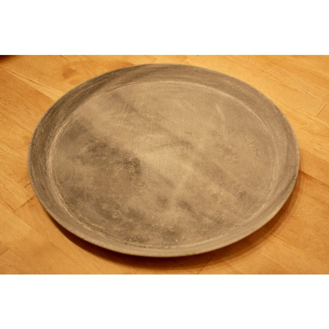 Rustic Minimalist Carved Marble Dish For Sale - Image 4 of 4