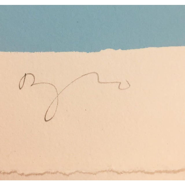 """Daryl Hughto """"Black River Bay"""", 1978 Edition of 150, Signed and Numbered in Pencil For Sale - Image 4 of 6"""