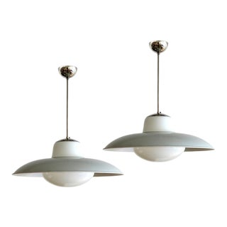 1930s Gunilla Jung for Stockmann Orno Pendant Lights - a Pair For Sale