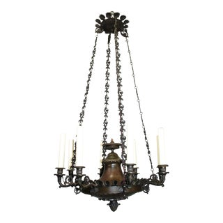 Antique Chandelier, Empire style For Sale