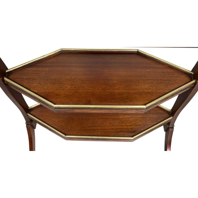 Directoire Mahogany and Brass Mounted Table For Sale In Boston - Image 6 of 13