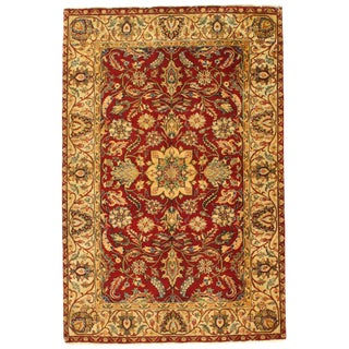 Pasargad Indo Agra New Zealand Wool Rug - 4′ × 6′ For Sale
