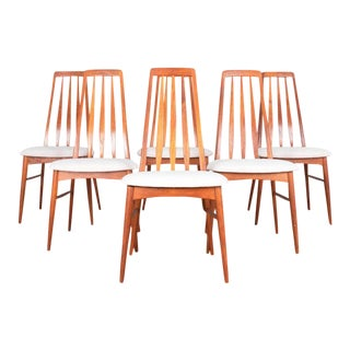 Niels Koefoed Mid-Century Modern Dining Chairs - Set of 6 For Sale