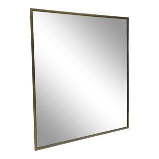 Impressive Mid-Century Modern Wall Mirror For Sale