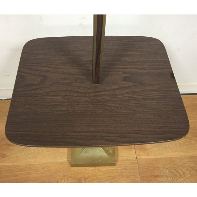 Mid-Century Table Floor Lamp - Image 3 of 8