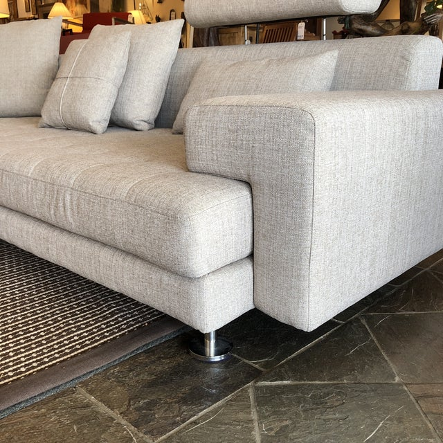Cepella Left Seated Sectional by Scandinavian Designs For Sale - Image 10 of 11