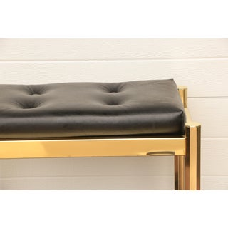 Koch Originals Vanity Stool in Gold and Black Preview