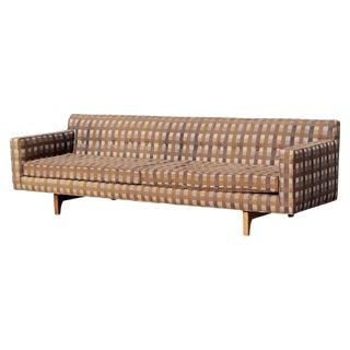 Mid-Century Modern Edward Wormley for Dunbar Tufted Sofa, 1950s For Sale