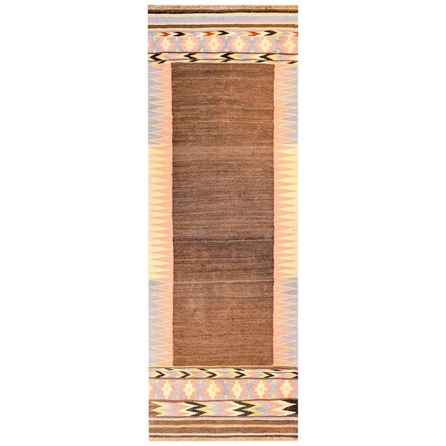 Early 20th Century Shahsevan Kilim Rug For Sale