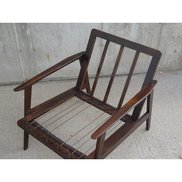 Restored Danish Modern Style Armchair - Image 10 of 11