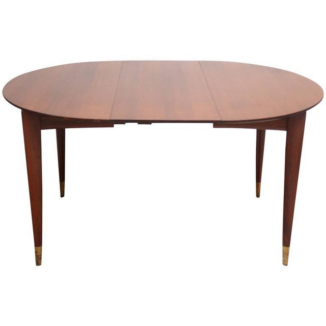 Gio Ponti Italian Walnut Dining Table for Singer & Sons - Image 3 of 11
