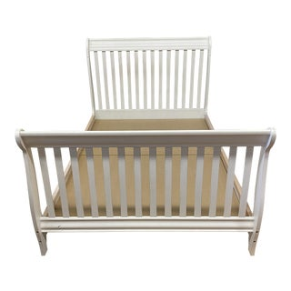 Full Size Morigeau Lepine Convertible Crib Bed Frame For Sale