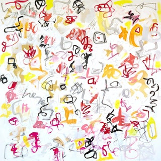 Rigamorale' Original Abstract Painting by Linnea Heide For Sale