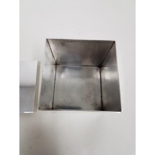 Carluccio Vintage Silverplate Box For Sale In Dallas - Image 6 of 9