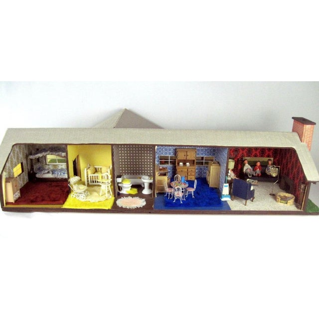 C.1970s Ranch Style Dollhouse For Sale - Image 11 of 11