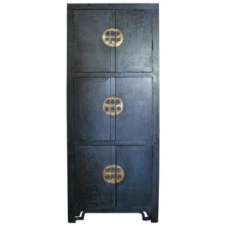 18th C. Tall Chinese Cabinet For Sale
