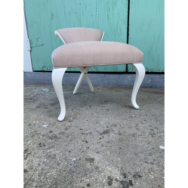 Wood Christopher Guy Vanity Fair Dressing Table & Stool For Sale - Image 7 of 13