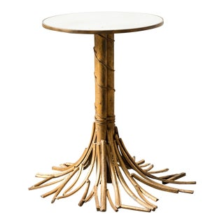 1940s Vintage Gilt Table For Sale