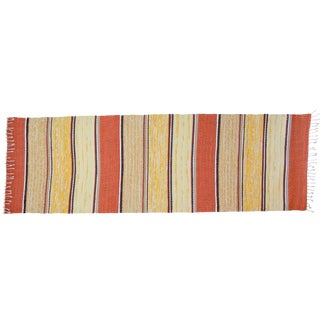 Swedish Handwoven Runner- 2′5″ × 6′11″