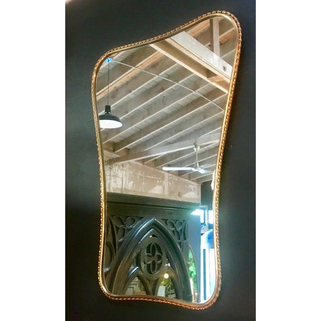 Brass Mirror, Italian 1960s - Image 2 of 7
