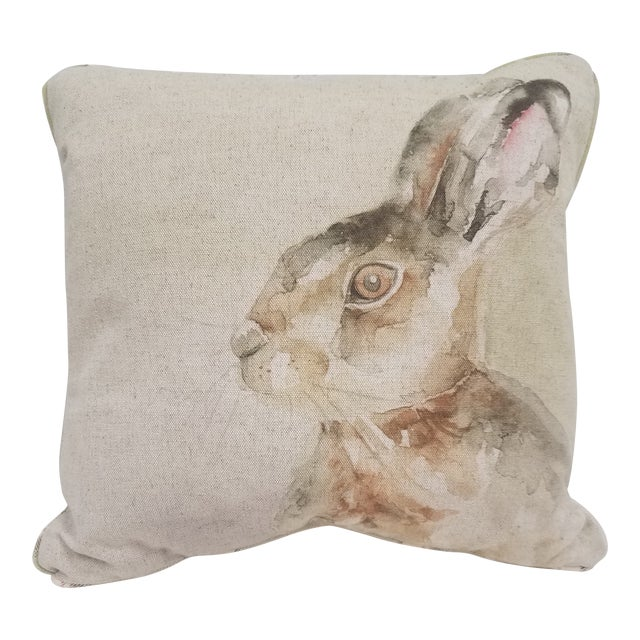Rabbit Pillow - Made in Wales, United Kingdom For Sale