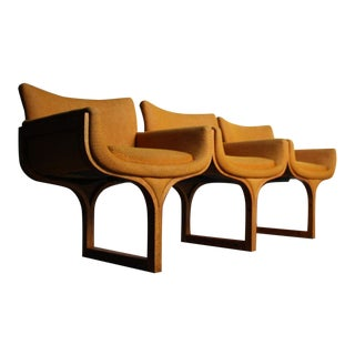 Arthur Umanoff Architectural Three Seat Bench For Sale