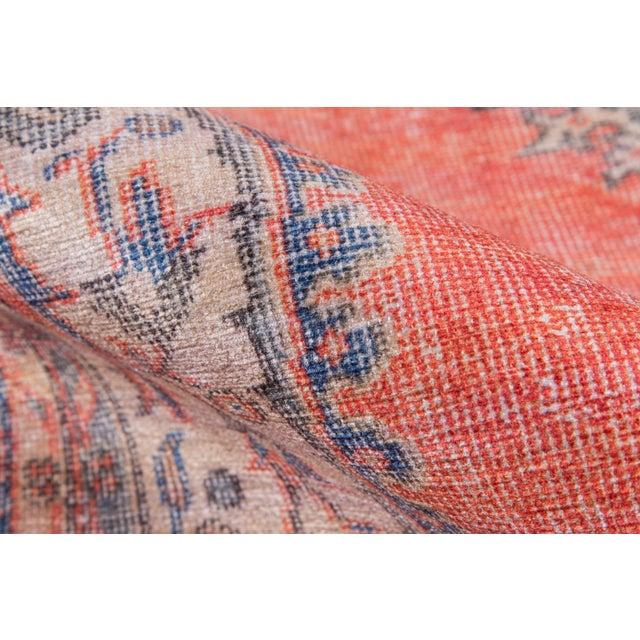 Turkish Momeni Afshar Area Rug - 7′6″ × 9′6″ For Sale - Image 4 of 6
