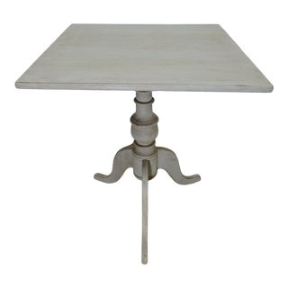 Swedish Country Pedestal Table For Sale