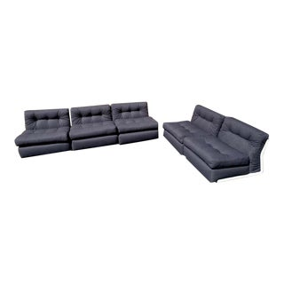 C & B Italia 'Amanta' Sofa and Love Seat, by Mario Bellini For Sale