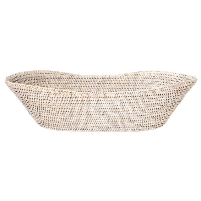 Artifacts Rattan Bread Basket For Sale