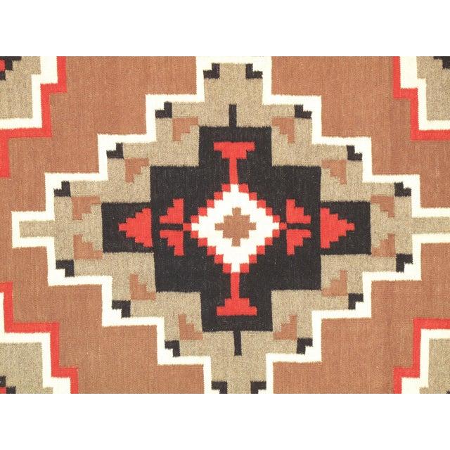 "Navajo Decorative Hand-Woven Rug - 5'3"" X 7'1"" - Image 2 of 3"