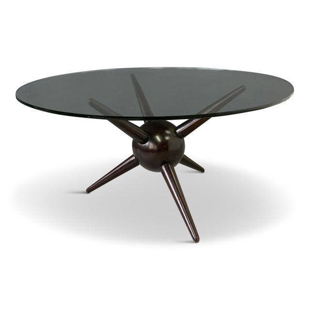 Gio Ponti Attributed Spike Cocktail Table For Sale - Image 9 of 9