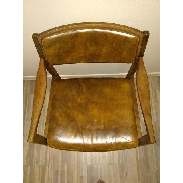 Gunlocke Chair For Sale - Image 6 of 6