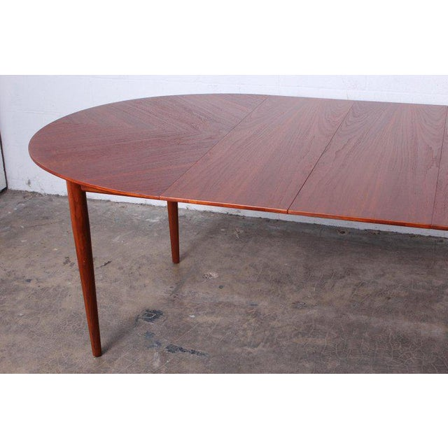 Brown Dining Table by Finn Juhl for Baker For Sale - Image 8 of 13
