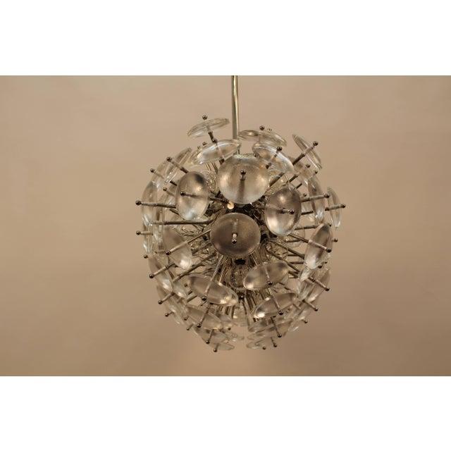 Contemporary Sputnik Chandelier, Zepelin For Sale - Image 3 of 11