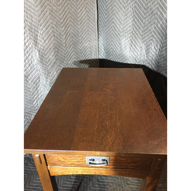 Mission Mission Collection 89-501 Rectangular End Table For Sale - Image 3 of 5