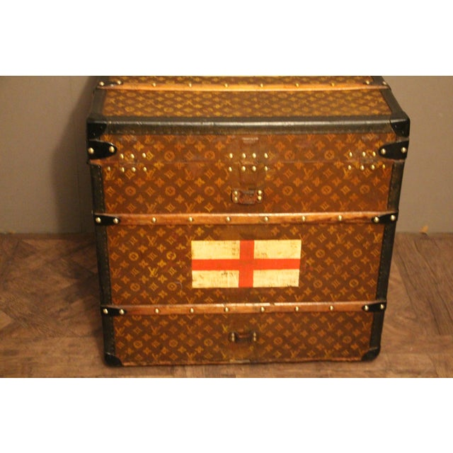 Louis Vuitton Cube Steamer Trunk For Sale - Image 11 of 13