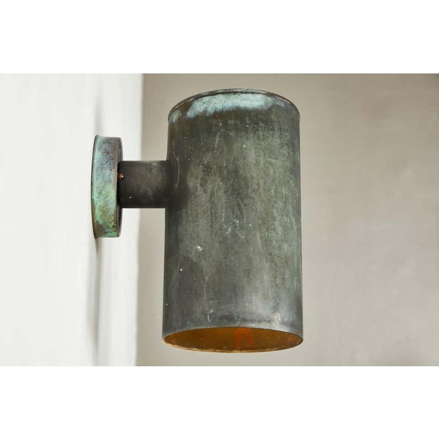 1950s Hans-Agne Jakobsson Cylindrical Outdoor Sconces - a Pair For Sale In Los Angeles - Image 6 of 10