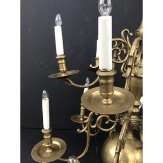 Mid 18th Century Antique Brass Dutch Chandelier Preview