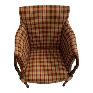 Red Southwood Accent Chair For Sale