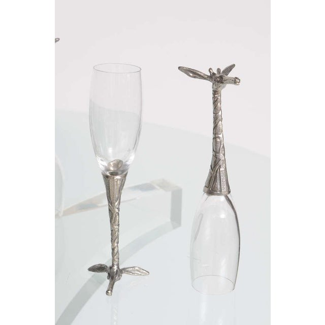 Whimsical Animal Themed Grouping of Stemware - Set of 26 For Sale In Miami - Image 6 of 10