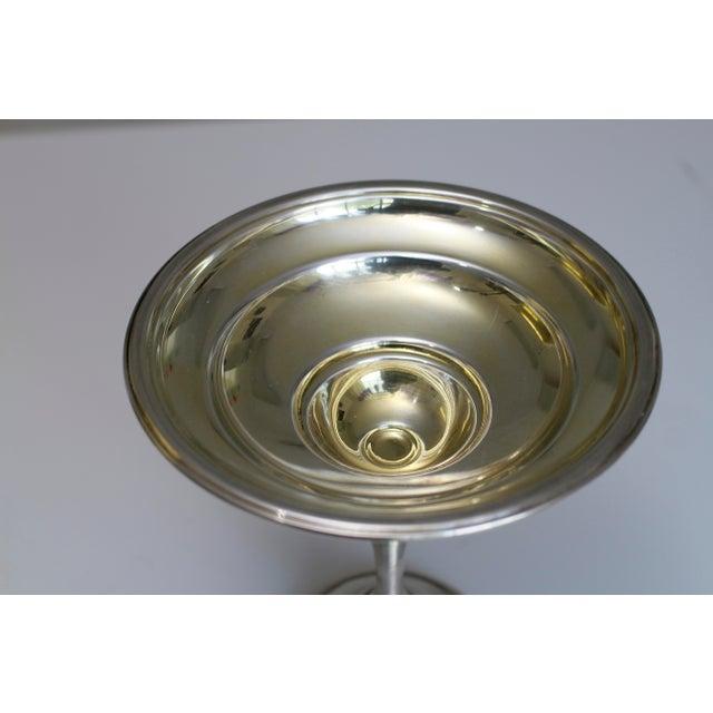 Antique Sterling Silver Berkeley International Pedestal Serving Dish For Sale - Image 10 of 11