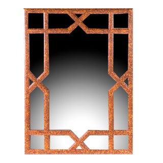 Palladio Faux Painted Mirror For Sale