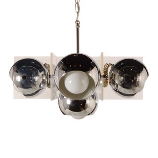 1960s Space Age Mid Century Modern Chandelier For Sale