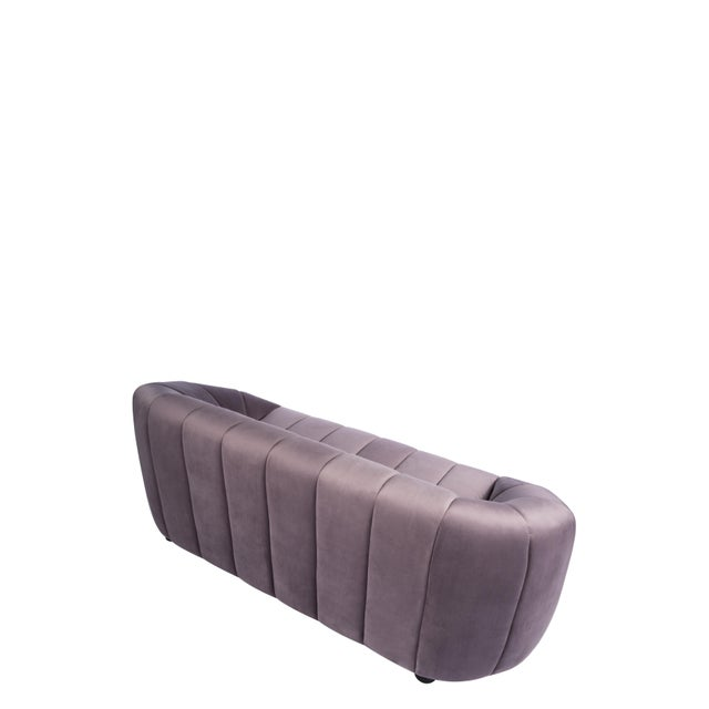 2010s Art Deco Mauve Milly Bubble Sofa For Sale - Image 5 of 6