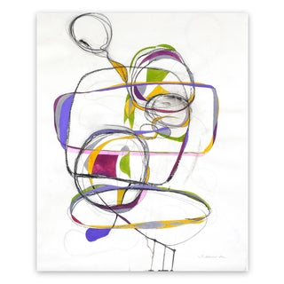 "Tracey Adams ""Balancing Act 1"", Painting For Sale"