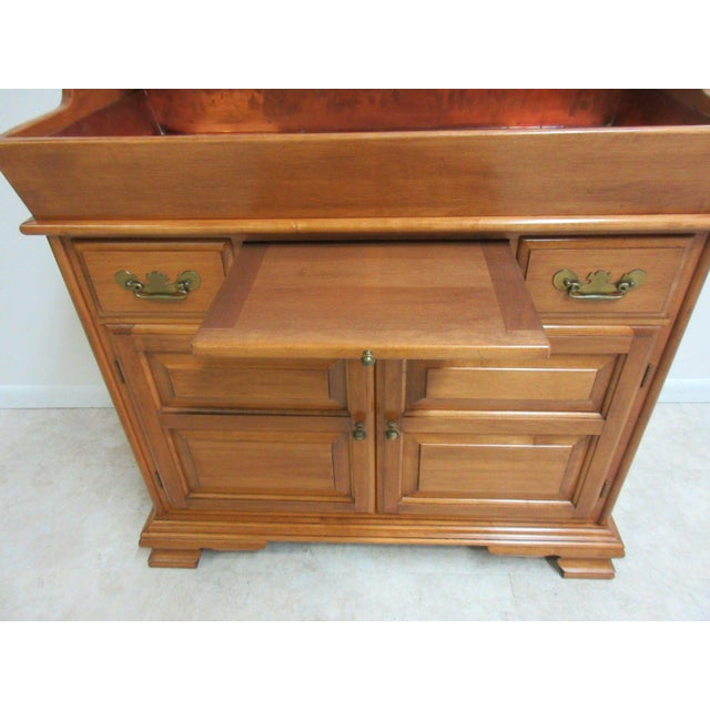 Vintage Conant Ball Maple Server For Sale - Image 9 of 11