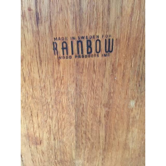 Mid Century Wood Swedish Serving Tray - Image 5 of 5